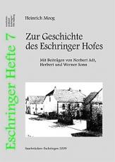 Eschringer Heft 7 - Zur Geschichte des Eschringer Hofes
