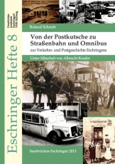 Eschringer Heft 8 - Von der Postkutsche zu Straßenbahn und Omnibus